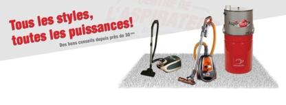 Centre de l'Aspirateur St-Anselme - Service et vente d'aspirateurs domestiques - 418-885-8182