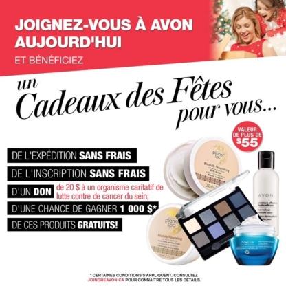 Katerine Boutet - Représentante et Leader Avon - Produits de beauté et de toilette
