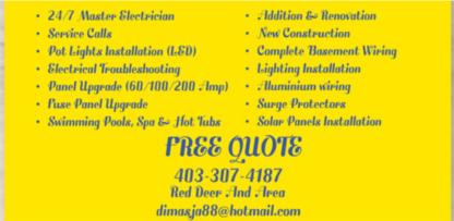 Sunrise Electric & Solar Power LTD. - Électriciens