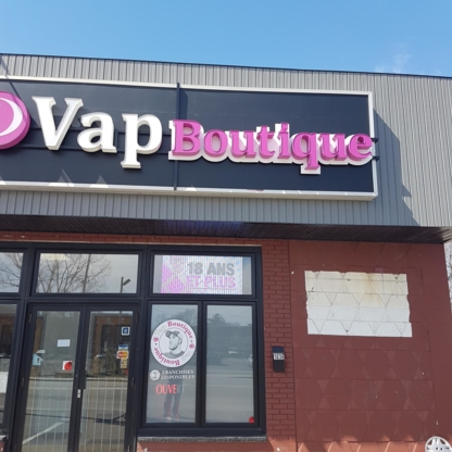 Vap Boutique - Electronics Stores - 450-937-2099