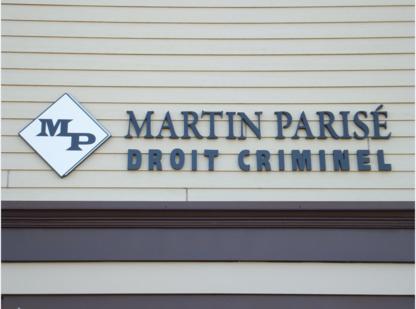 Me Martin Parisé - Criminal Lawyers