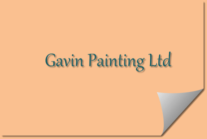 Gavin Painting - Painters - 604-537-3084
