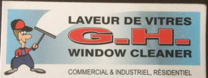 Laveur De Vitre G H - Window Cleaning Service - 819-281-3234