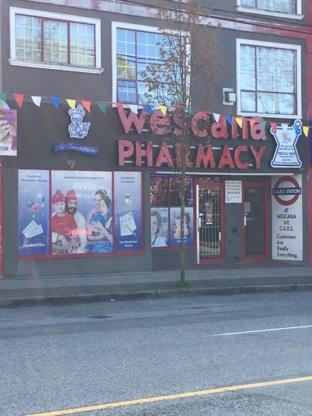 Wescana Pharmacy Ltd - Pharmacies - 604-324-6734