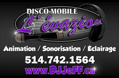 Disco-Mobile l'Évazion - Dj Service - 514-742-1564