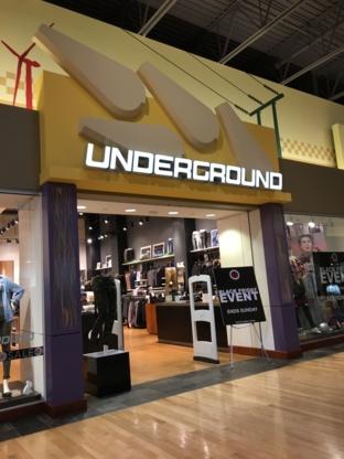 Underground Clothing Last Stop - Magasins de vêtements