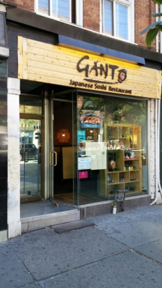 Ganto Sushi - Japanese Restaurants - 416-260-8588