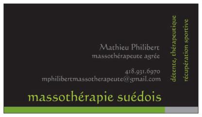 Mathieu Philibert Massothérapeute - Massothérapeutes - 514-714-6970