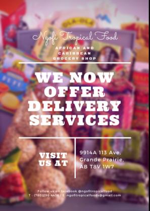 Ngofi Tropical Food Market Ltd - Grocery Stores - 780-296-4436