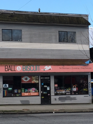 Ball & Biscuit Pet Boutique - Pet Food & Supply Stores - 604-682-1899