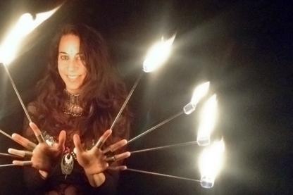 Vera Fire Dancing - Family Entertainment