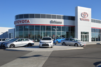 Orléans Toyota - New Car Dealers - 613-830-3401