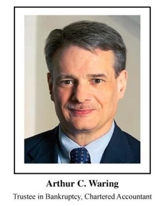A C Waring & Associates Inc - Bankruptcy Trustees - 780-424-8357