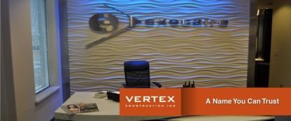 Vertex Construction Inc - Entrepreneurs en construction