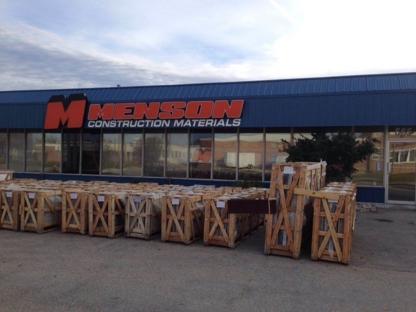 Menson Construction Materials - Entrepreneurs en construction - 204-775-4792