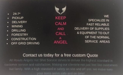 All Roads Angels Hot Shot Service - Delivery Service - 250-852-2608