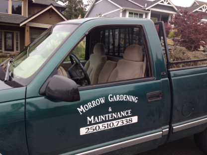 Morrow Gardening & Maintenance - Landscape Contractors & Designers - 250-510-7338