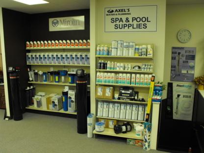 Axel's Water & Plumbing Centre - Plombiers et entrepreneurs en plomberie - 807-623-4488