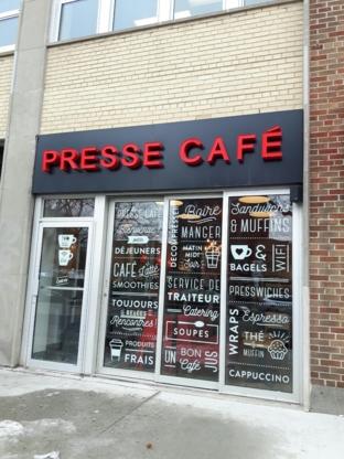 Presse Cafe - Cafes Terraces - 514-903-2620