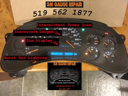Instrument Cluster Gauge Repair - Car Repair & Service