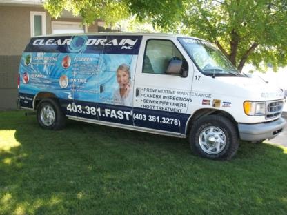 Clear Drain Inc - Plombiers et entrepreneurs en plomberie - 403-381-3278