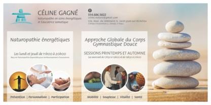 Gagné Céline Soins Energétiques - Naturothérapeutes - 514-606-5022