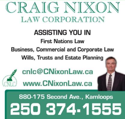 Craig Nixon Law - Estate Lawyers - 250-374-1555