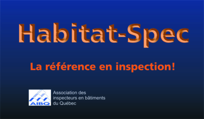 Habitat Spec - Excavation Contractors - 581-246-2433