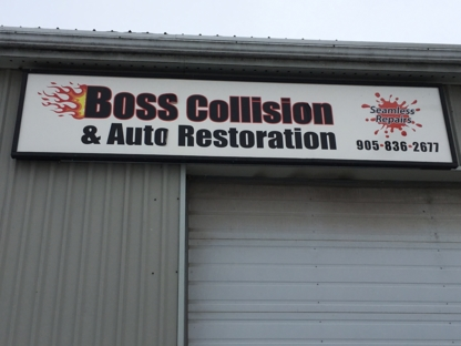 Boss Collision & Auto Restoration - Auto Body Repair & Painting Shops - 905-836-2677