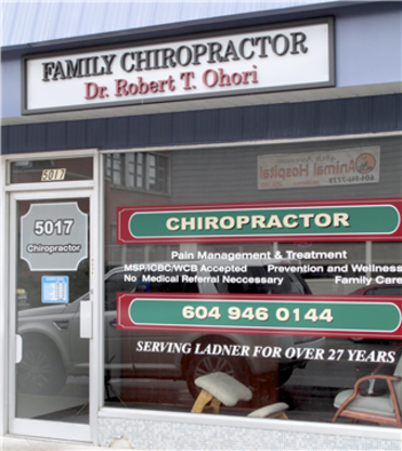 Ladner Chiropractic - Chiropractors DC - 604-946-0144
