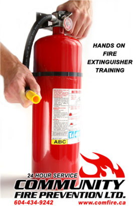Community Fire Prevention Ltd - Fire Extinguishers - 604-944-9242