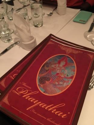 Maison Phayathai Inc - Thai Restaurants - 514-933-9949