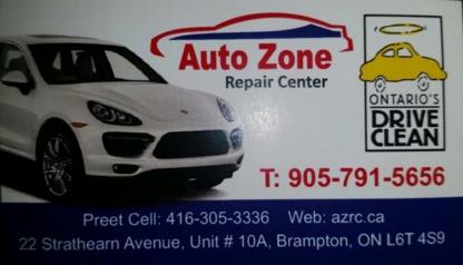 Auto Zone Repair Center - Car Repair & Service - 905-791-5656