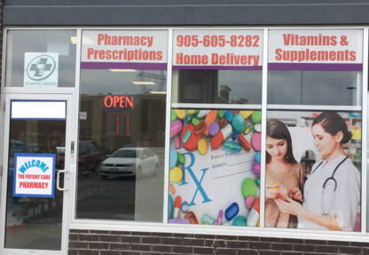 The Patient Care Pharmacy - Pharmacies - 905-605-8282