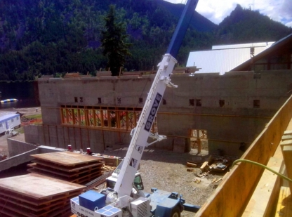 G&J Forming Structural and Architectural Concrete Forming - General Contractors - 250-864-5220