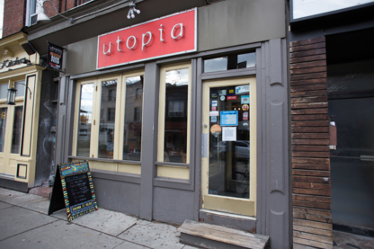 Utopia Cafe Grill - Burger Restaurants - 416-534-7751