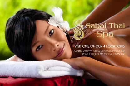 Sabai Thai Spa - Health Resorts - 604-474-4122