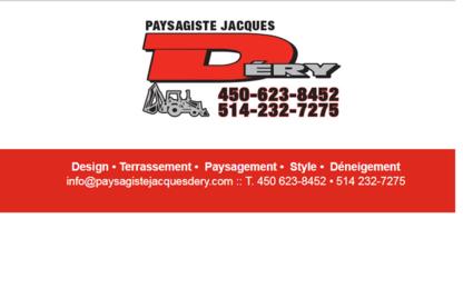 Déry Déneigement et Fils - Paysagistes et aménagement extérieur - 450-623-8452