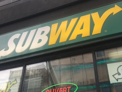 Subway - Restaurants - 514-844-1679