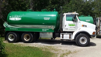 McIsaac Septic Tank Pumping Ltd - Septic Tank Cleaning - 519-853-2790