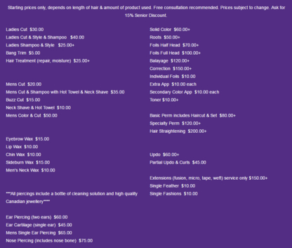 Okanagan Beauty Services - Waxing - 250-215-9068