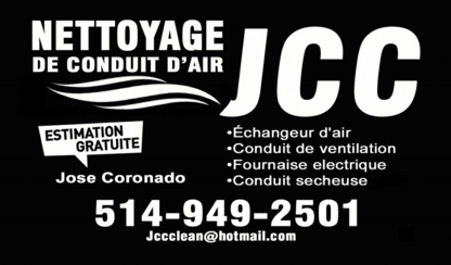JCC Propre - Duct Cleaning