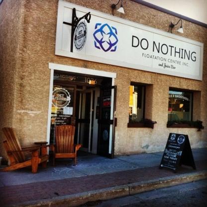 Do Nothing Floatation & Resonate Organic Juicery - 778-526-5155