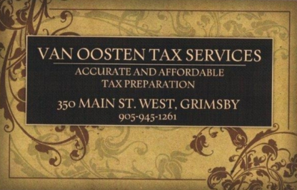 Van Oosten Tax Services - Tax Return Preparation - 905-945-1261