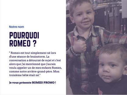 Romeo Promo Inc - Promotional Products