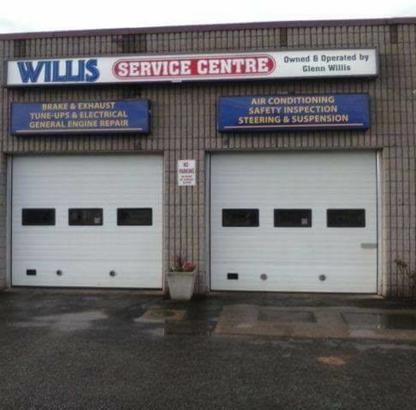 Willis Service Centre Ltd - Oil Changes & Lubrication Service - 519-966-2320