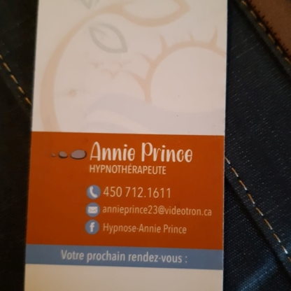 Voir le profil de Hypnose Annie Prince - Sainte-Sophie