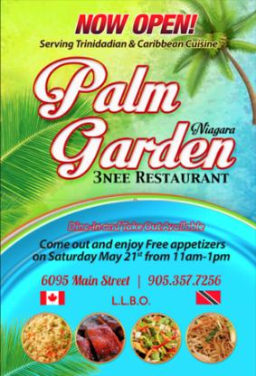 Palm Gardens 3Nee Restaurant And Bar - Caribbean Restaurants - 905-357-7256