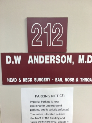 Dr Donald W Anderson - Physicians & Surgeons
