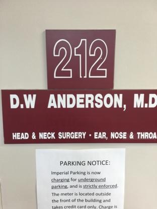 Dr Donald W Anderson - Médecins et chirurgiens - 604-941-9191